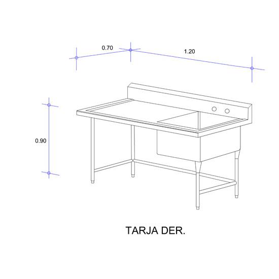 5564_Fregadero con Una Tarja para Ollas Mod. FOSC-120-tarja der