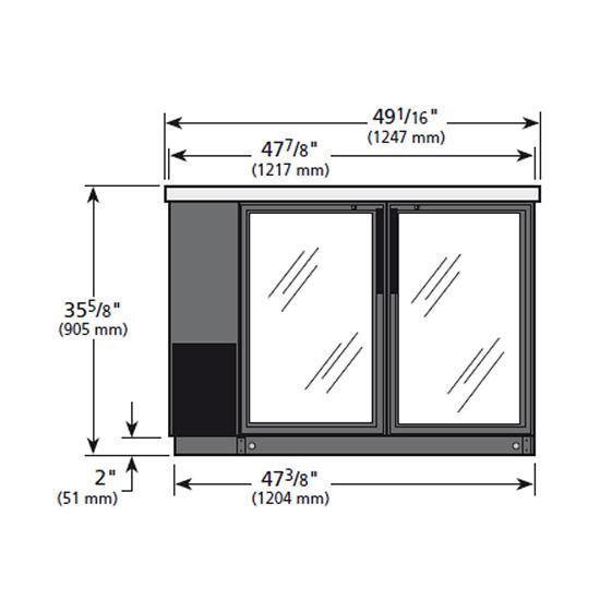 6224-Refrigerador-TRUE-TBB-24-48G-F